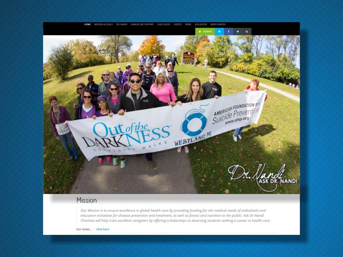 Ask Dr Nandi Charities 2015