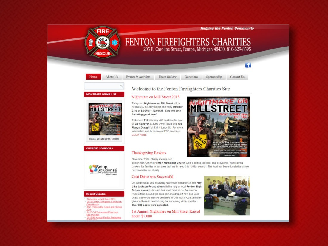Fenton Firefighters Charities