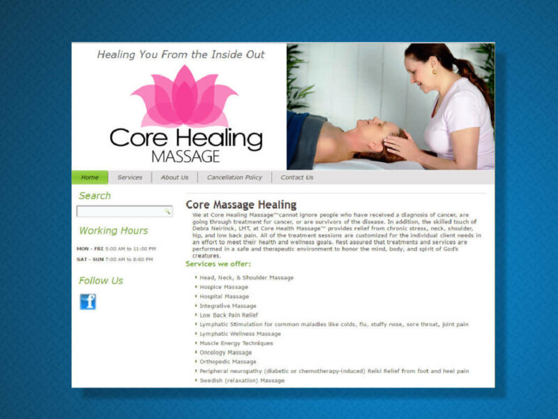 Core Healing Massage